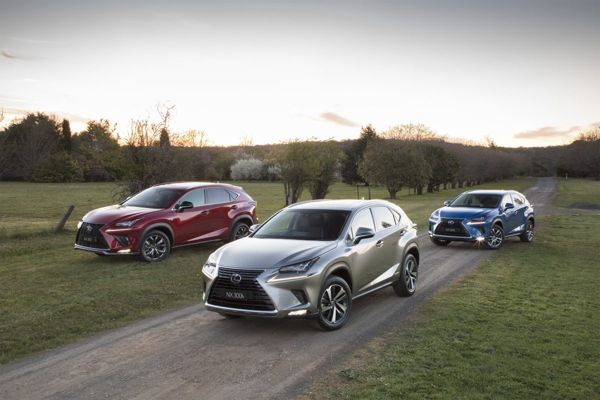 Updated 2018 Lexus Nx Line Up What S New