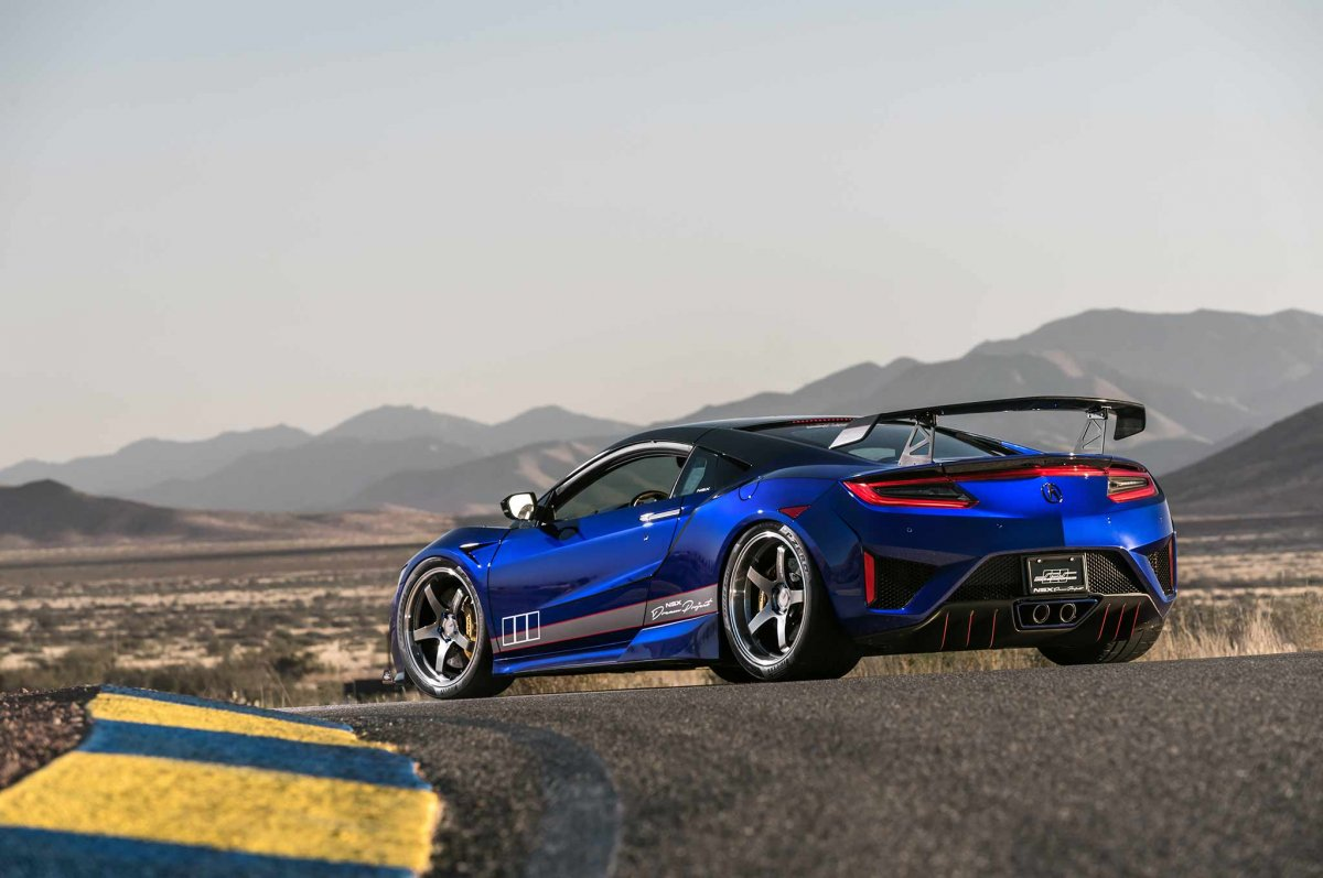 Scienceofspeed Quot Dream Project Quot Honda Nsx Unveiled At Sema