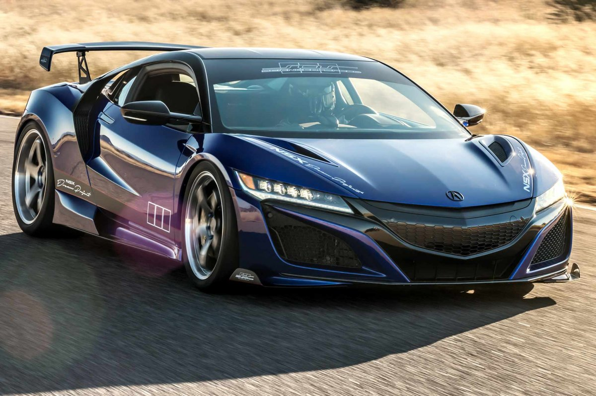 scienceofspeed  u0026quot dream project u0026quot  honda nsx unveiled at sema