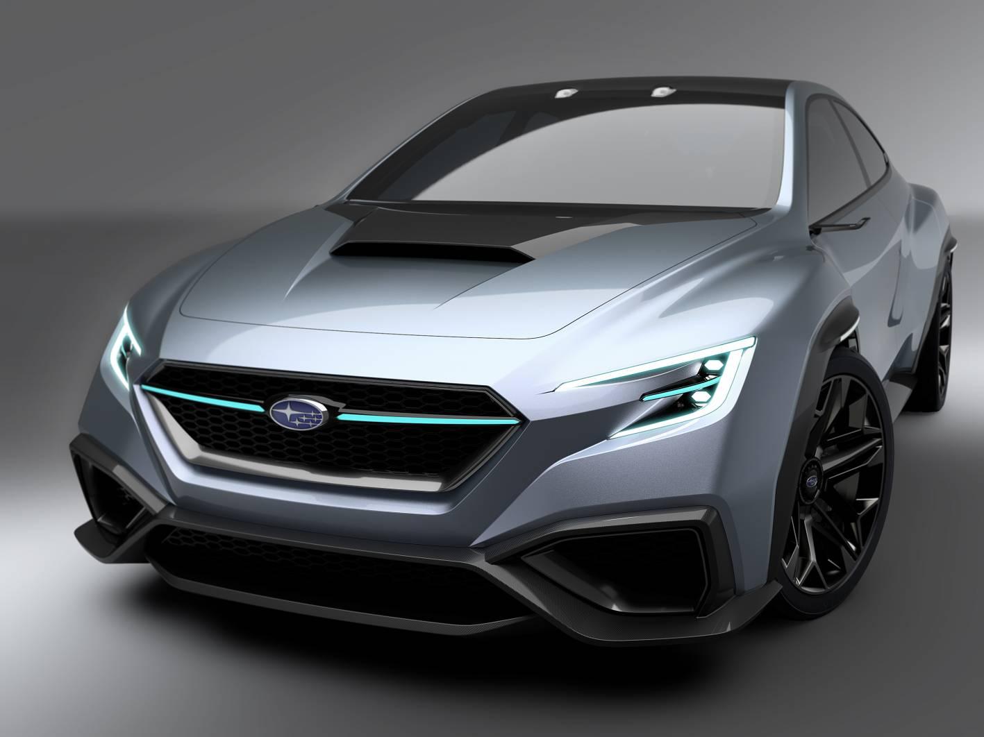 Subaru Wrx Sti Impreza 2017 >> Subaru VIZIV Performance Concept previews next-gen WRX / WRX STI - ForceGT.com