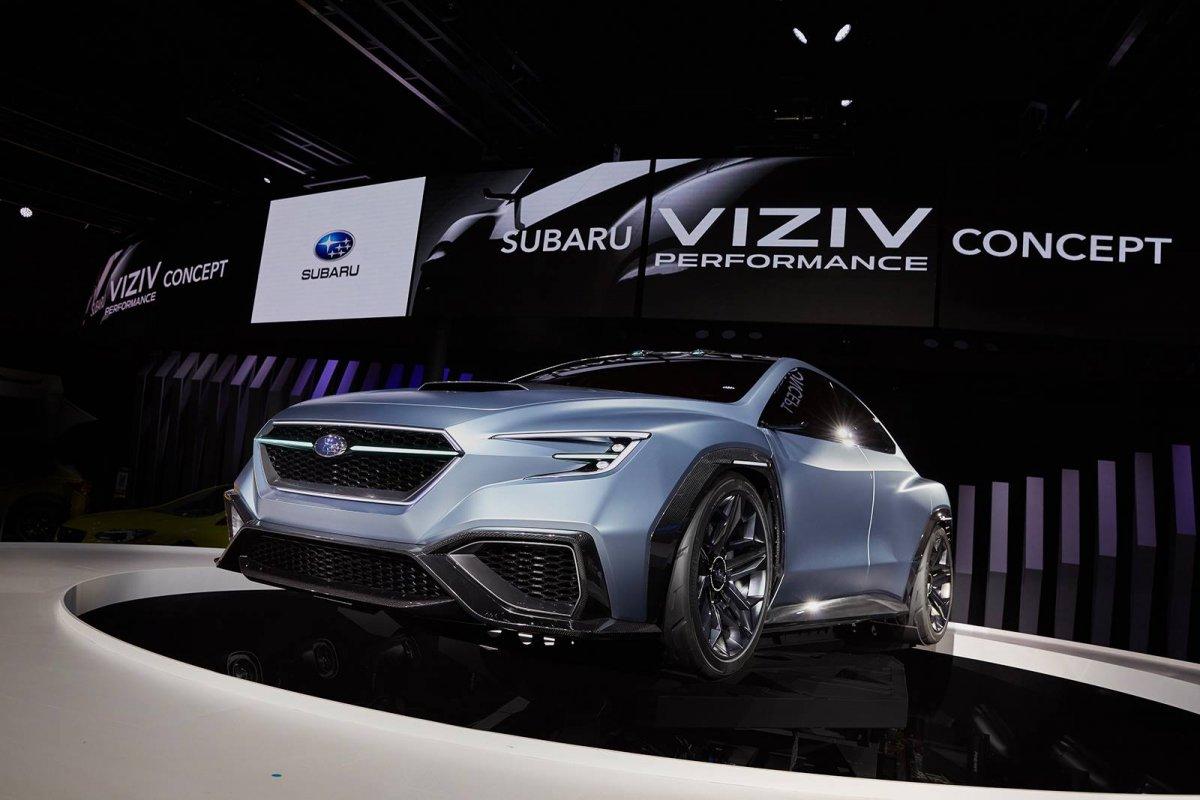 Subaru Viziv Performance Concept Previews Next Gen Wrx