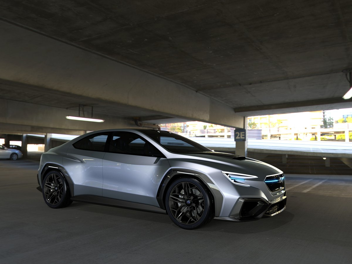 Subaru VIZIV Performance Concept previews next-gen WRX ...