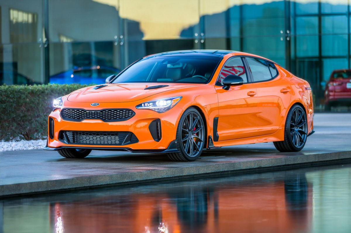 Kia Performance Center >> Customised Kia Stinger GTs sting at SEMA - ForceGT.com