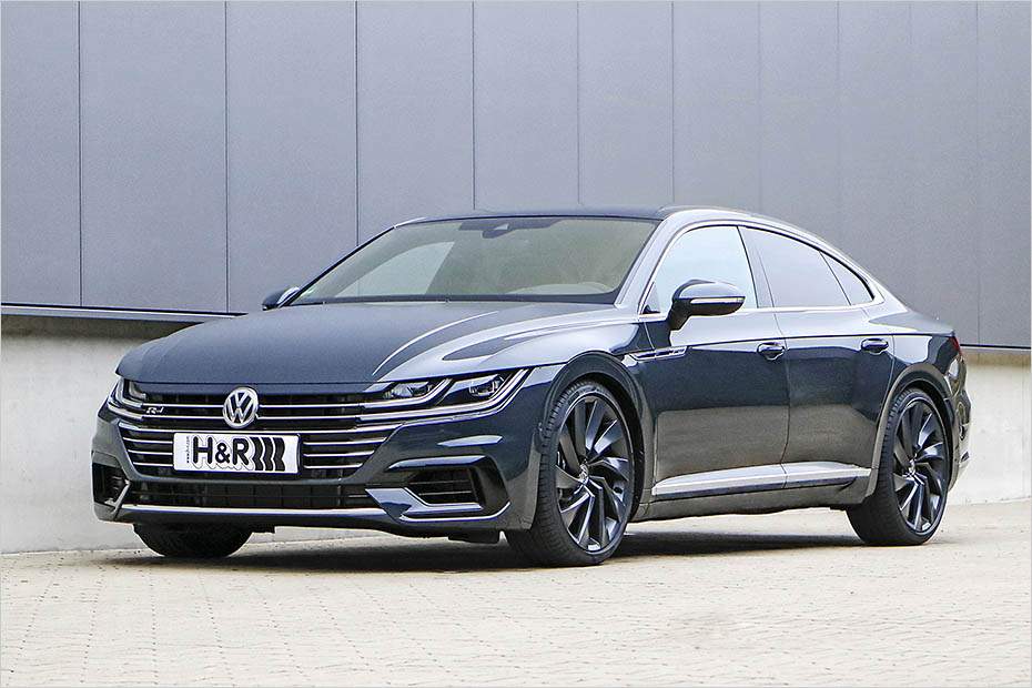 Volkswagen Arteon Dropped On H Amp R Springs And Spacer