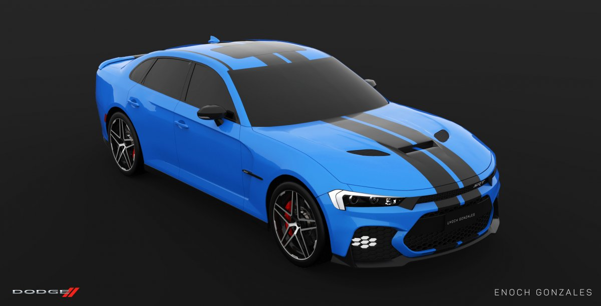 2019 Dodge Charger SRT Hellcat super sedan envisioned - ForceGT.com