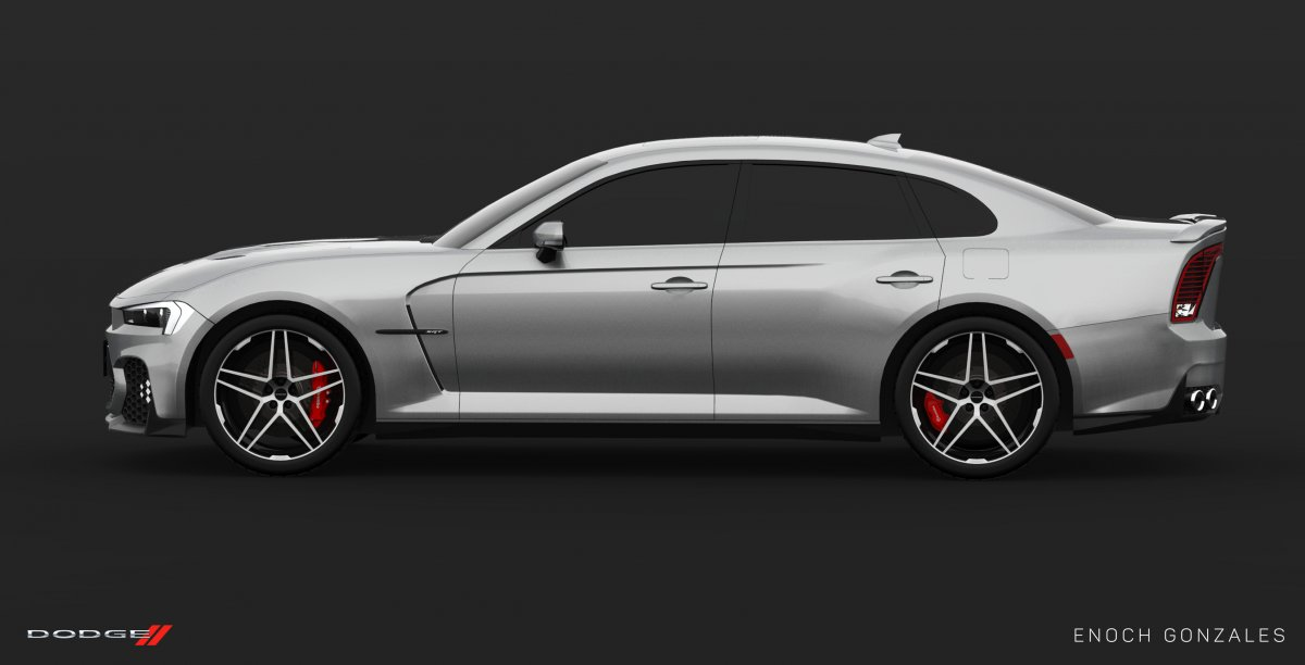 2017 Dodge Charger Srt >> 2019 Dodge Charger SRT Hellcat super sedan envisioned - ForceGT.com