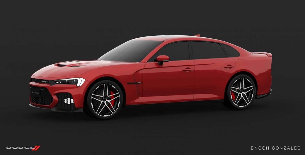 2019 Dodge Charger Srt Hellcat Super Sedan Envisioned