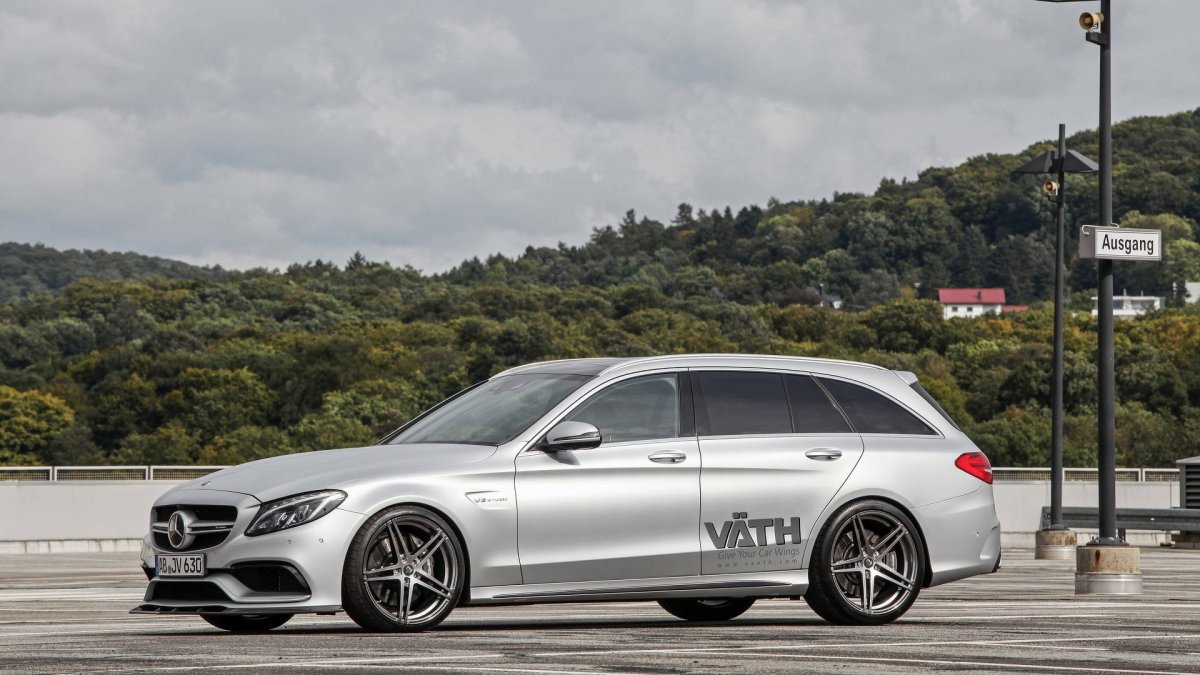 Tuning V 196 Th 513kw 340km H Mercedes Amg C63 Wagon