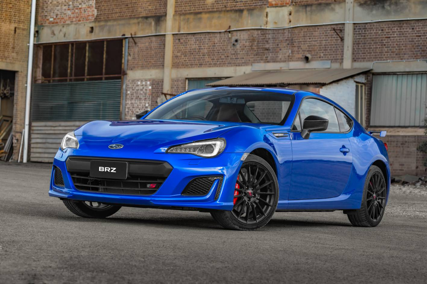 Subaru Brz Ts Launched As New Range Topper With Sti Goodies Forcegt Com