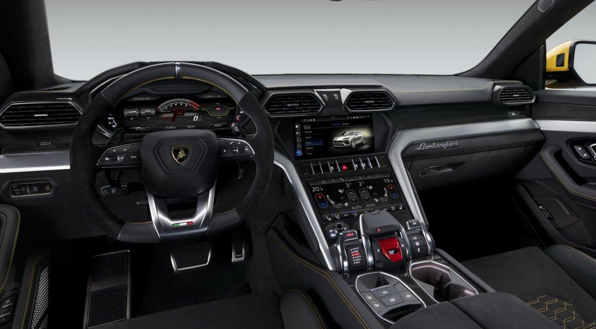 Lamborghini Unveils Its Super Suv The Urus 0 100km H