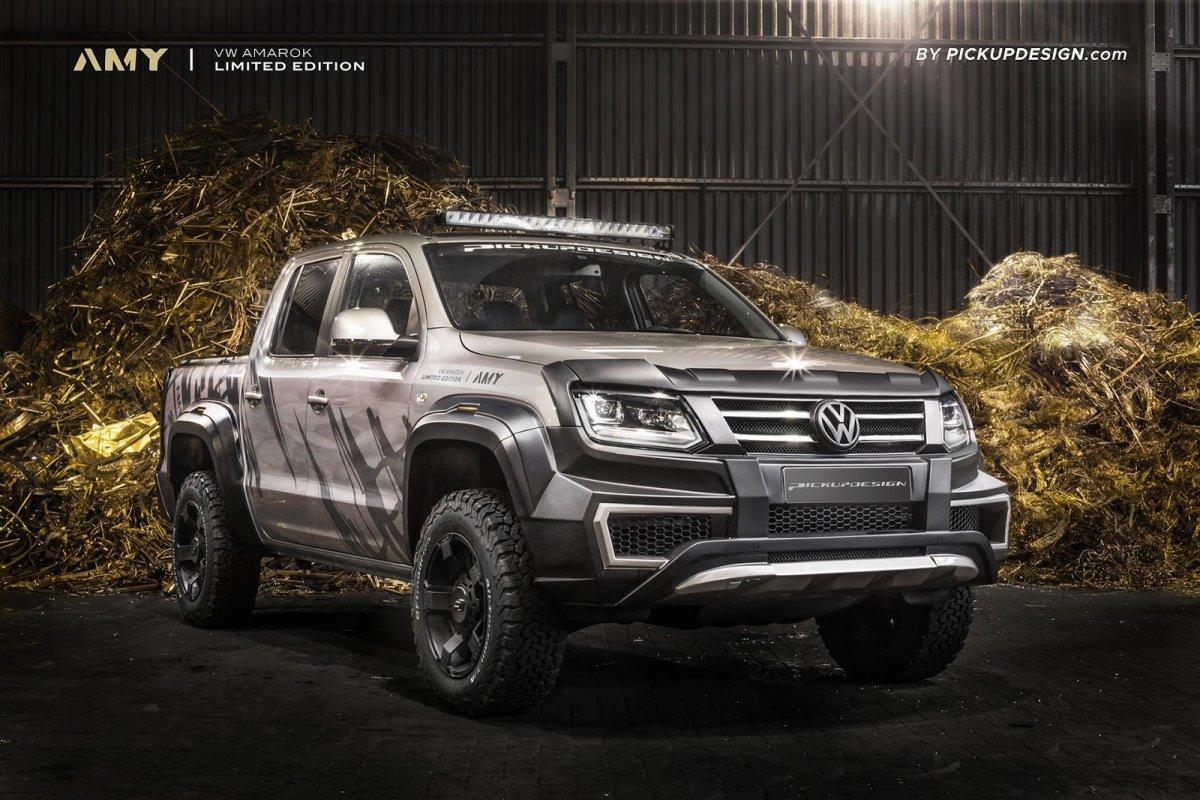 Pickup Design beefs up Volkswagen Amarok - ForceGT.com