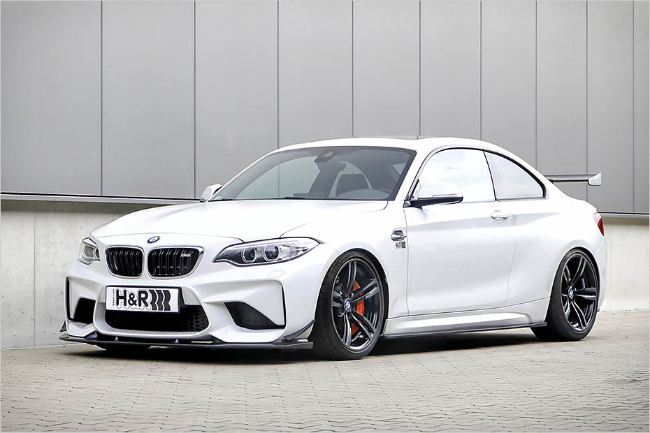 BMW M2 dropped on H&R springs - ForceGT.com