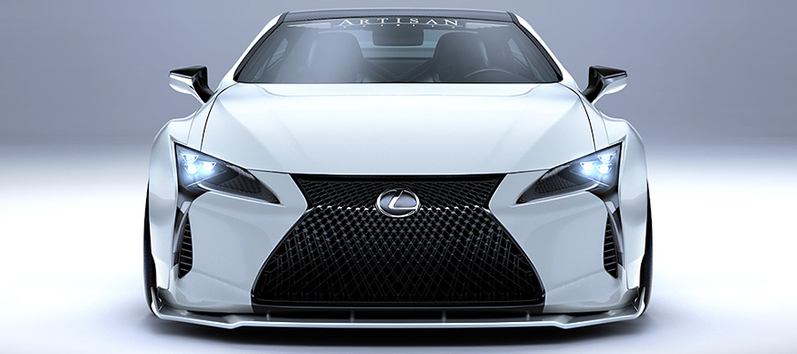 Lexus LC wide body kit from Artisan Spirits - ForceGT com