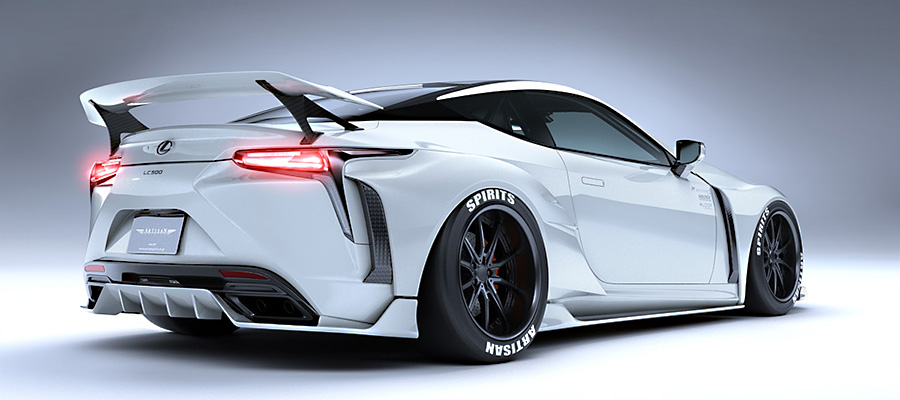 Lexus LC wide body kit from Artisan Spirits - ForceGT.com