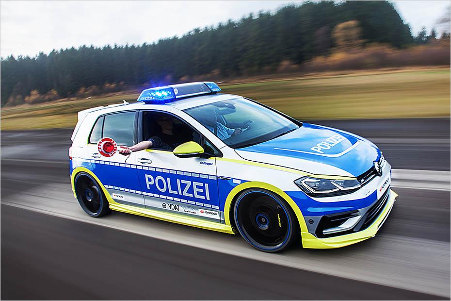 Oettinger Volkswagen Golf 400R as new Australian Police ...