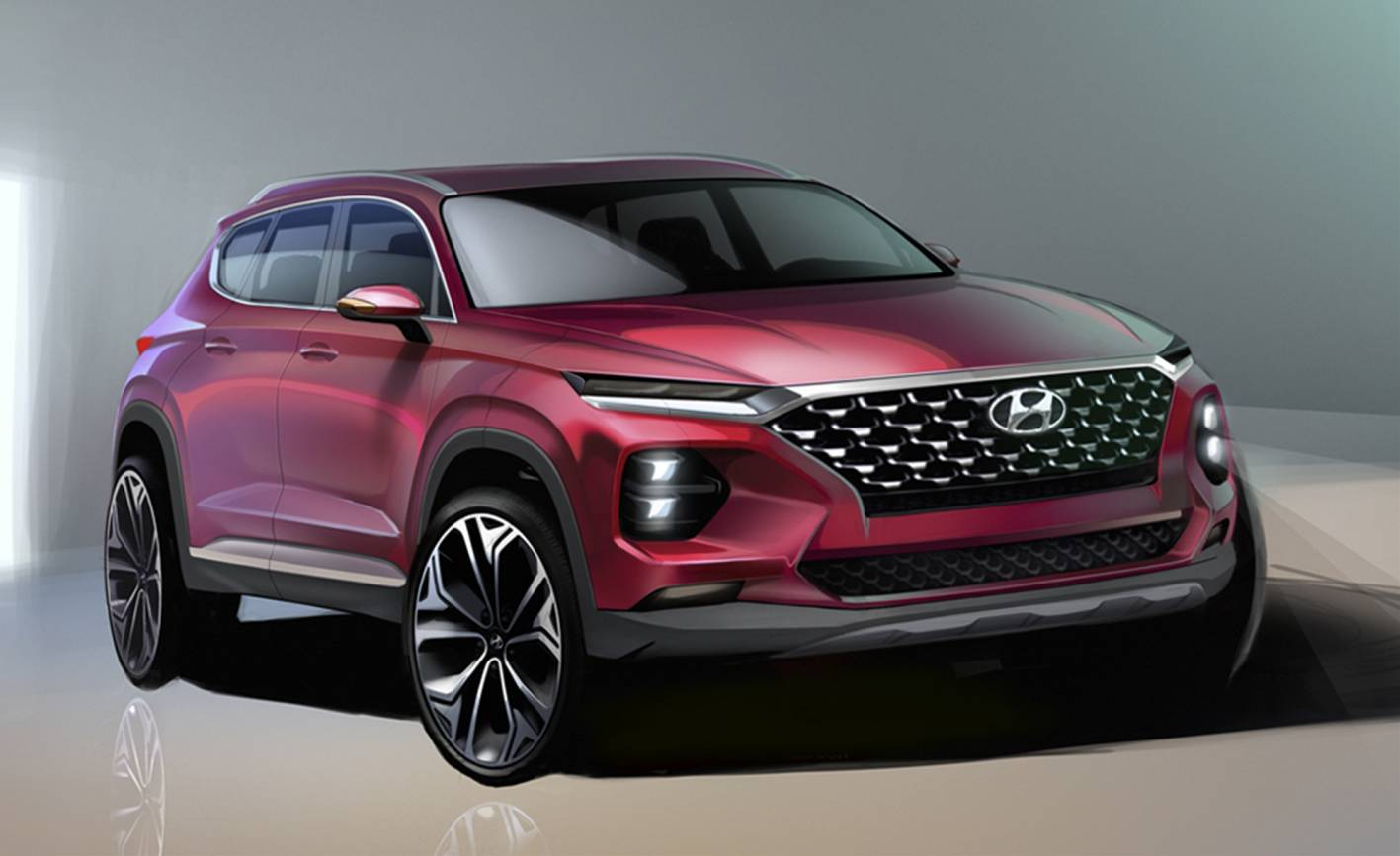 First look: 2019 Hyundai Santa Fe - ForceGT.com