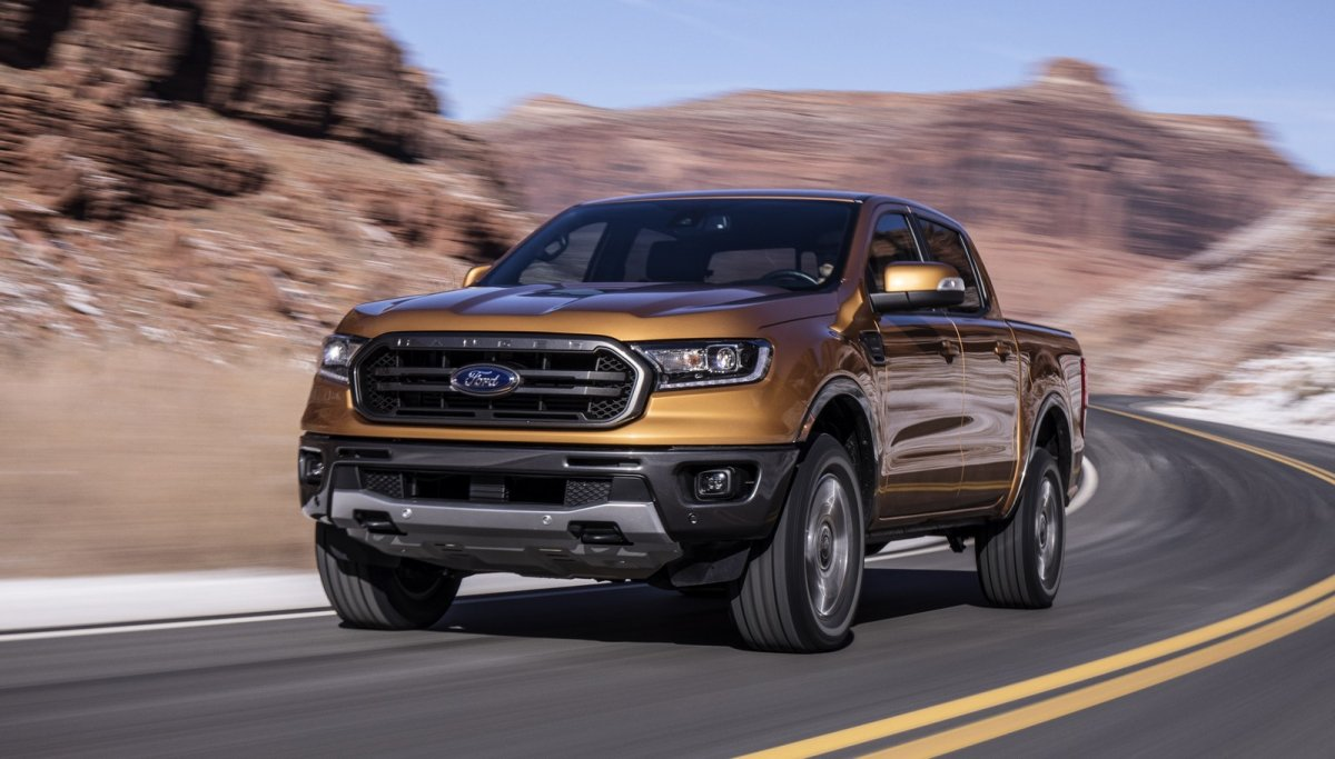 2019 Ford Ranger Previewed Via North American Model