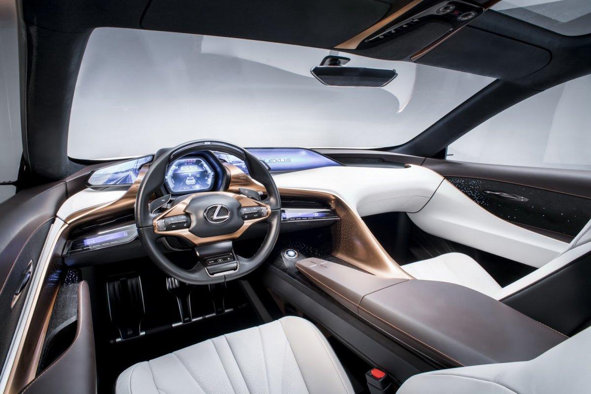 Lexus-LF1-Limitless concept dashboard - ForceGT com