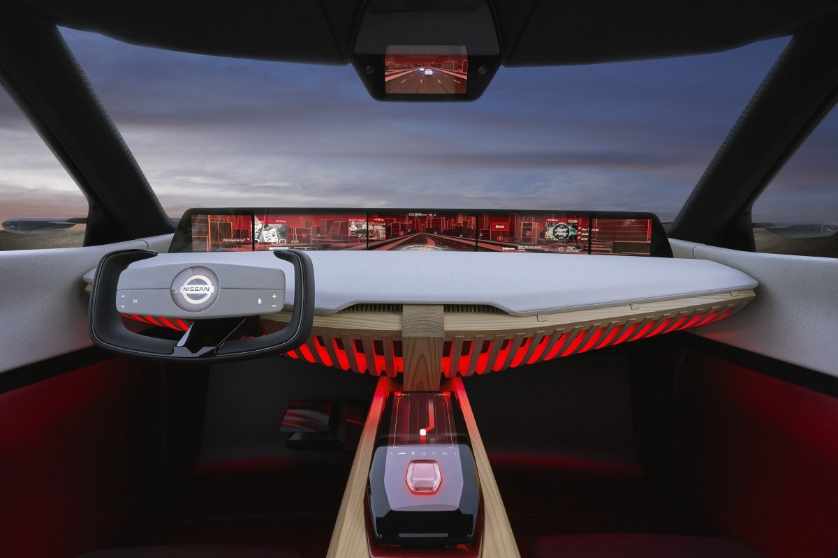 Dramatic X Motion Concept Previews Future Nissan Suv