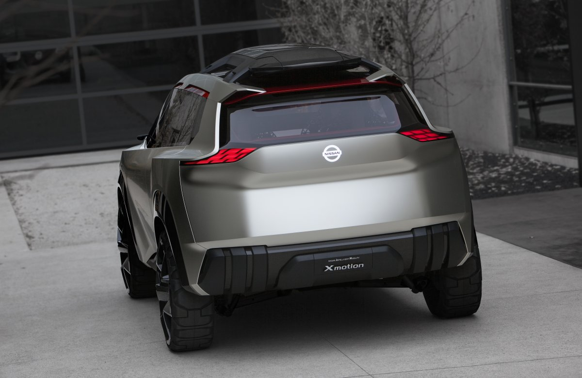 Dramatic X-Motion concept previews future Nissan SUV ...