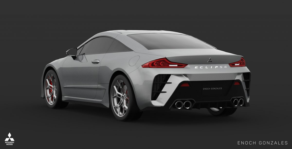 2020 Mitsubishi Eclipse Coupe Lives On In The Digital