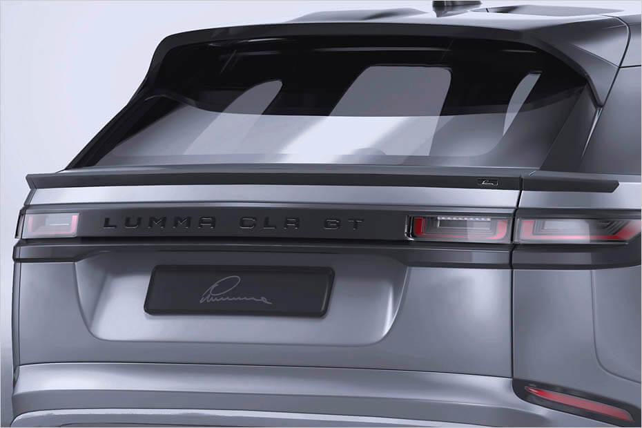 Range Rover Velar Lumma Clr Gt Wide Body Rear Spoiler Forcegt Com