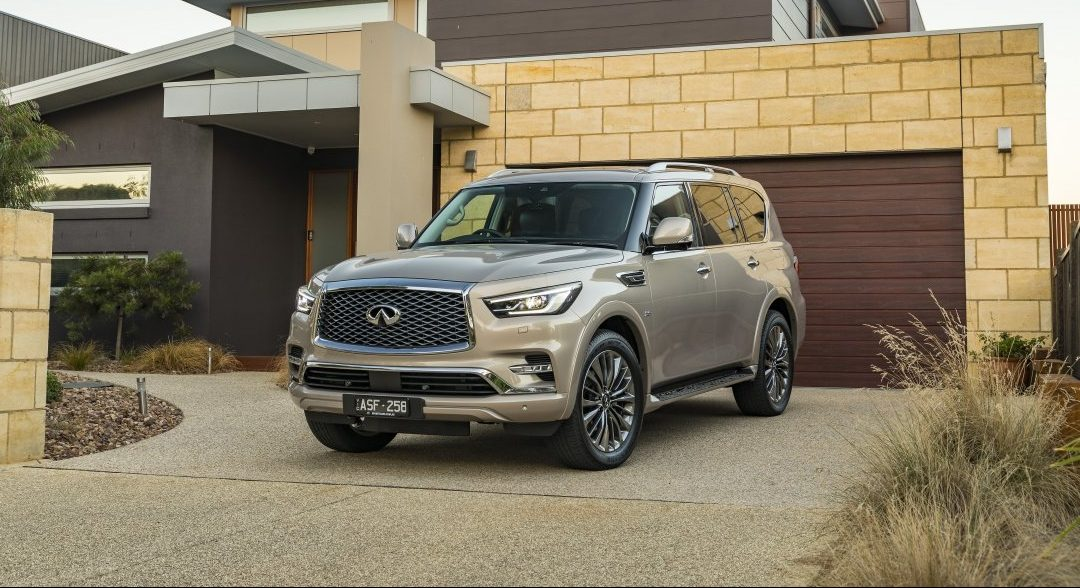 BMW X5 Towing Capacity >> Updated 2018 Infiniti QX80 remains segment's sharpest ...