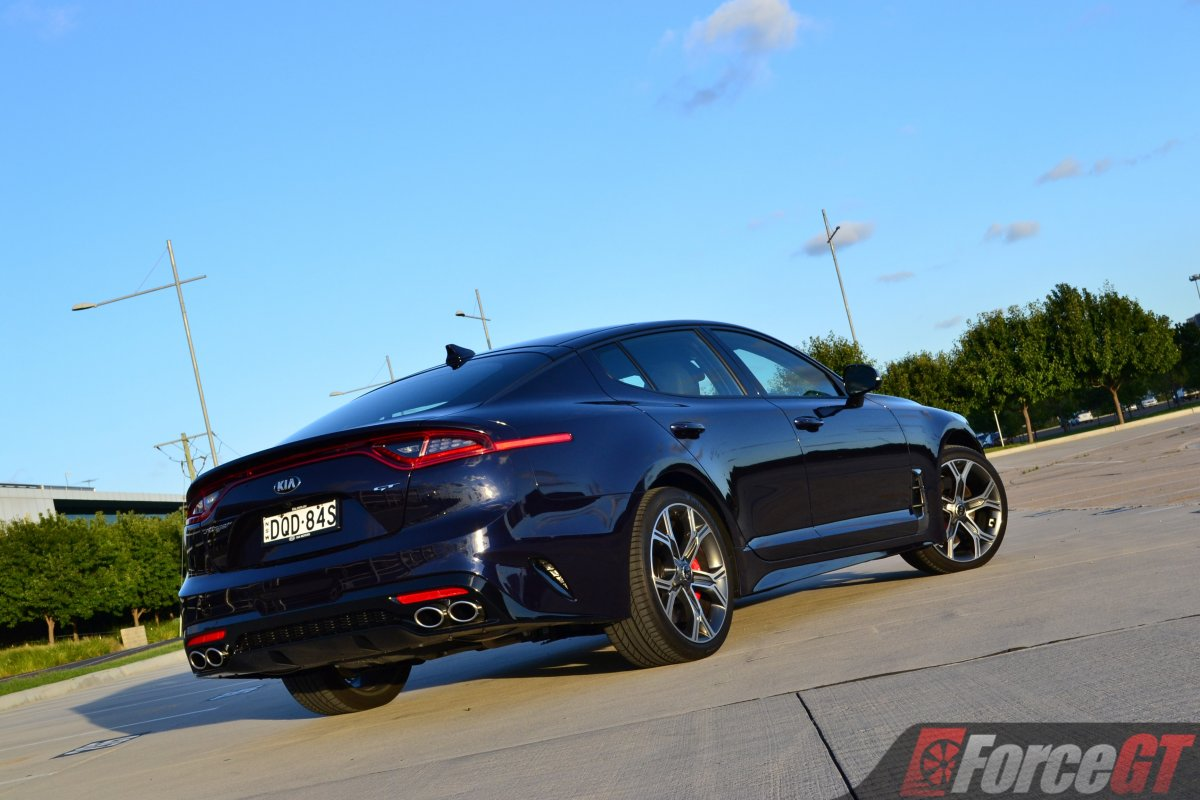 2018 Kia Stinger Gt Review Forcegt Com