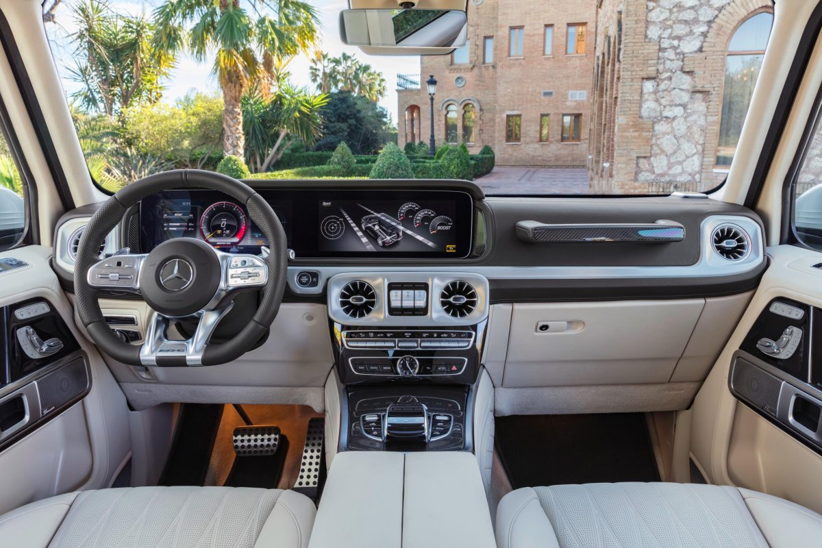 2018 Mercedes Amg G63 Interior Forcegt Com