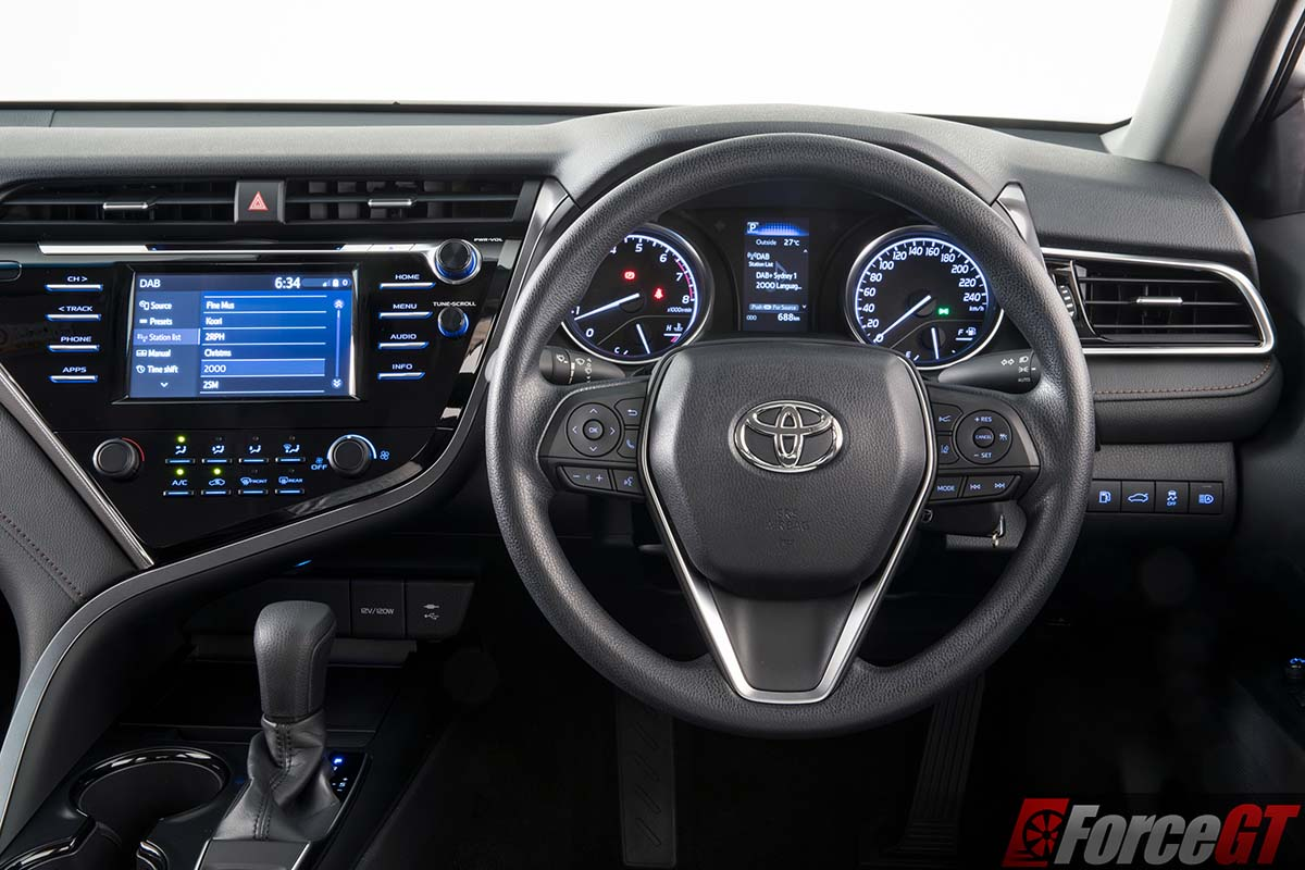 2018 Toyota Camry Ascent Review Boring No More Forcegt Com