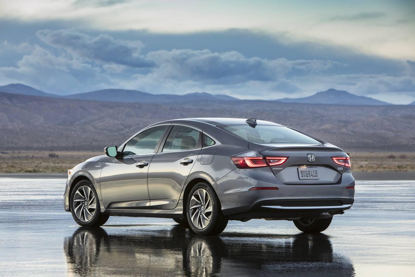 All New 2019 Honda Insight Production Model Revealed