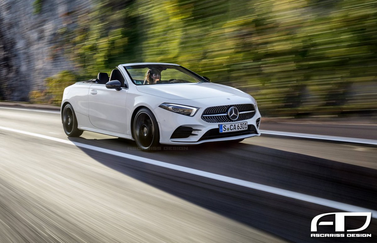 mercedes benz a class coupe and convertible coming. Black Bedroom Furniture Sets. Home Design Ideas