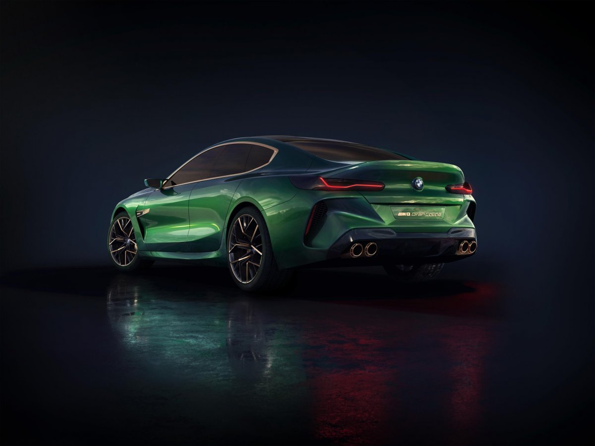 Bmw Previews M8 Gran Coupe Arriving 2019 Forcegt Com