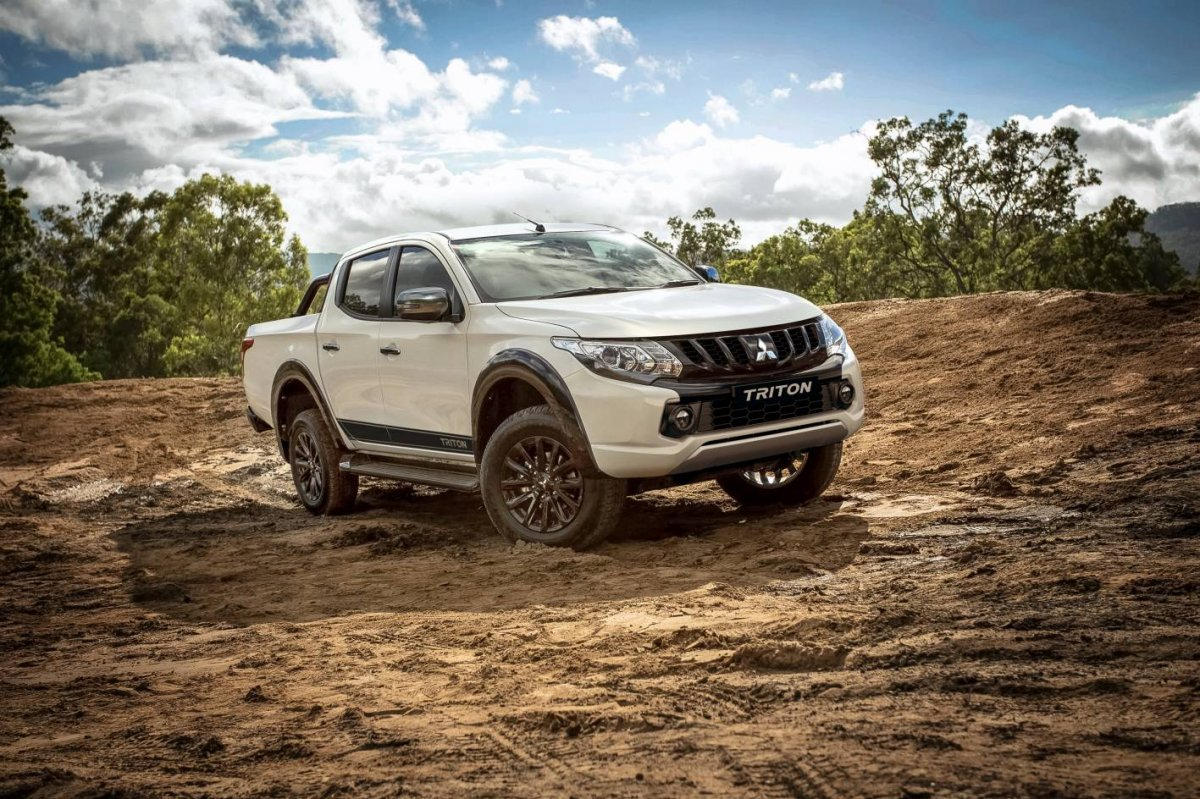 Mitsubishi Triton Adds Appeal With Blackline Limited