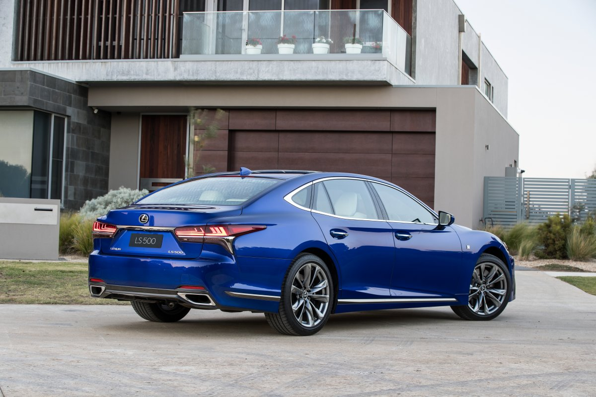 2018 Lexus Ls Sedan Flagship Launches In Australia From