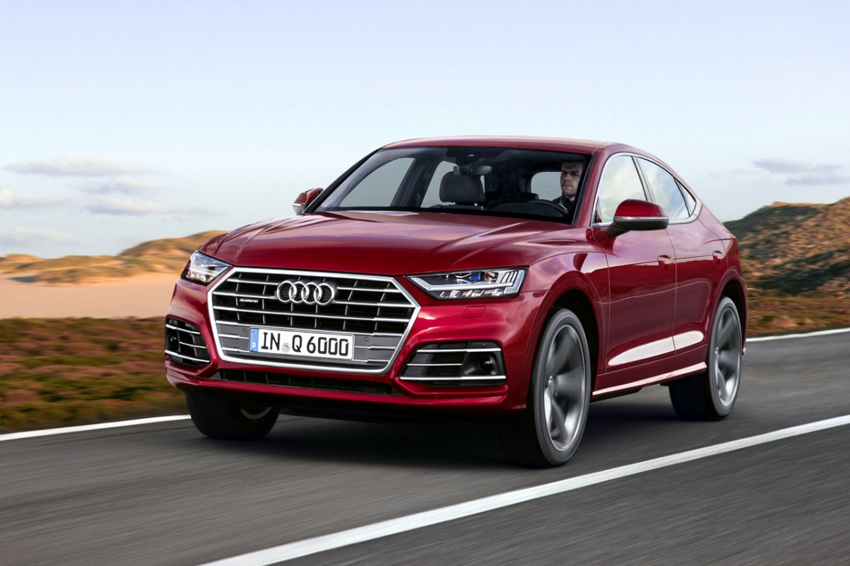 Crossover Coupe War Audi Q6 To Rival Bmw X4 And Merc Glc Coupe