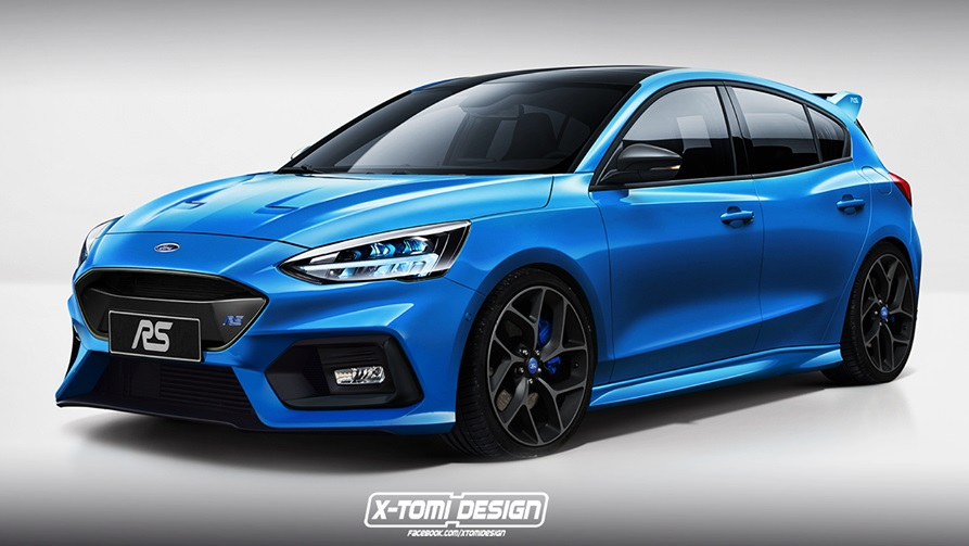 Next Gen Ford Focus Rs To Go Mild Hybrid With Nearly 300kw