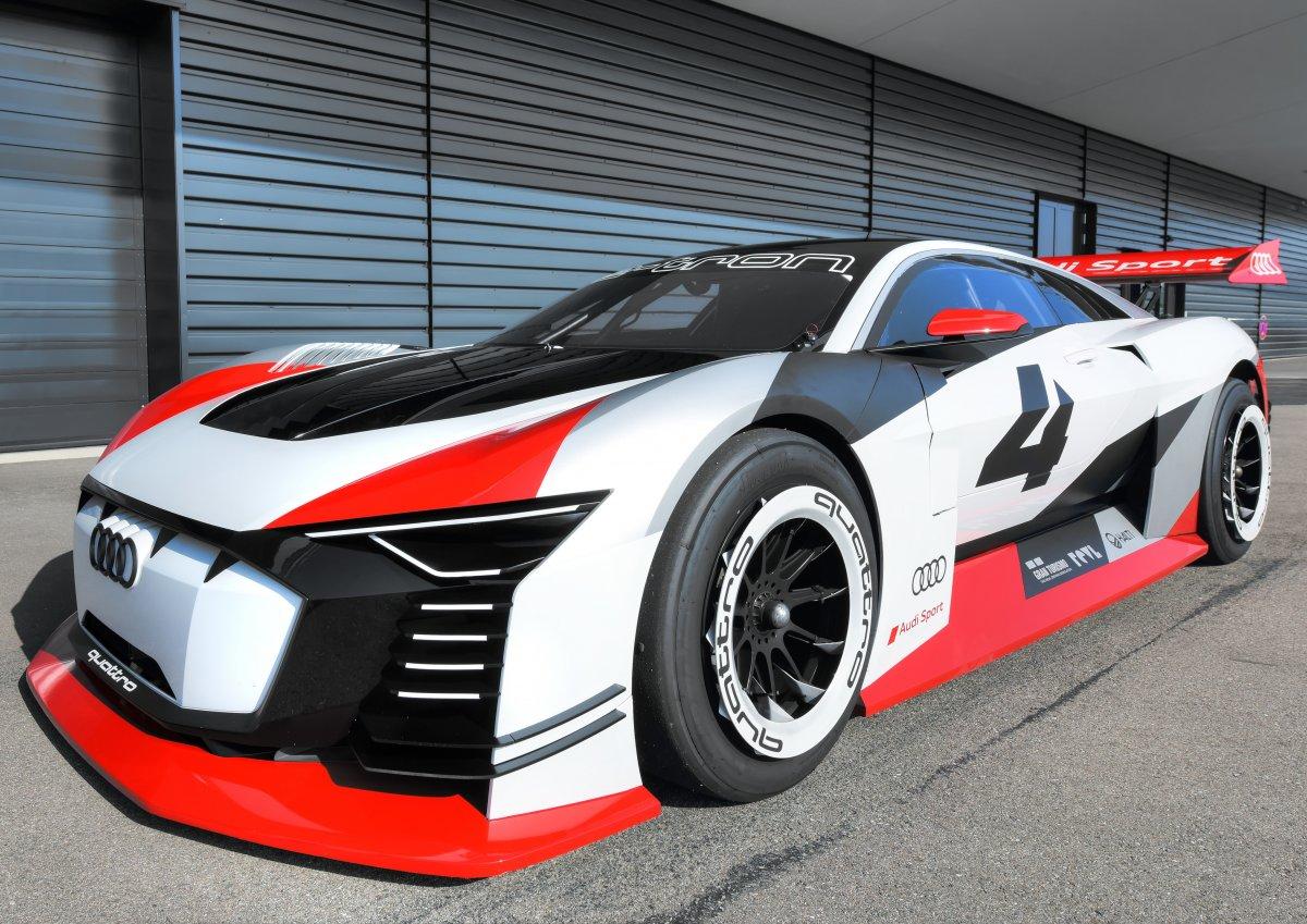 Audi e-tron Vision Gran Turismo turns reality at Formula E ...