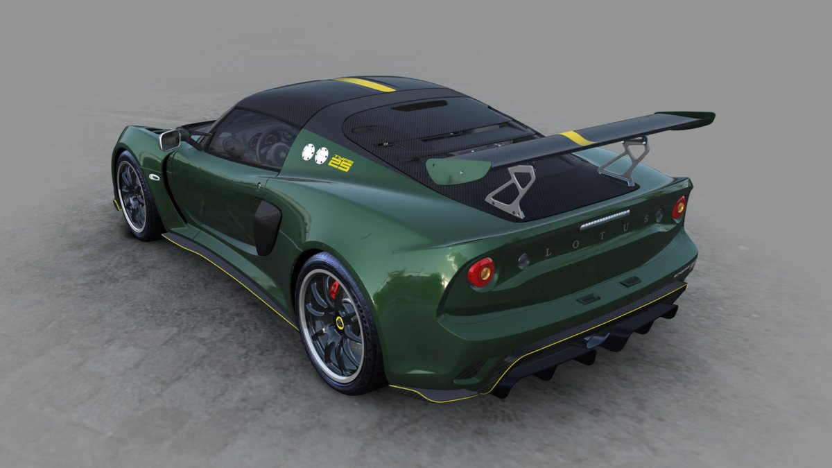 Limited Lotus Exige Cup 430 Type 25 Unveiled Forcegt Com