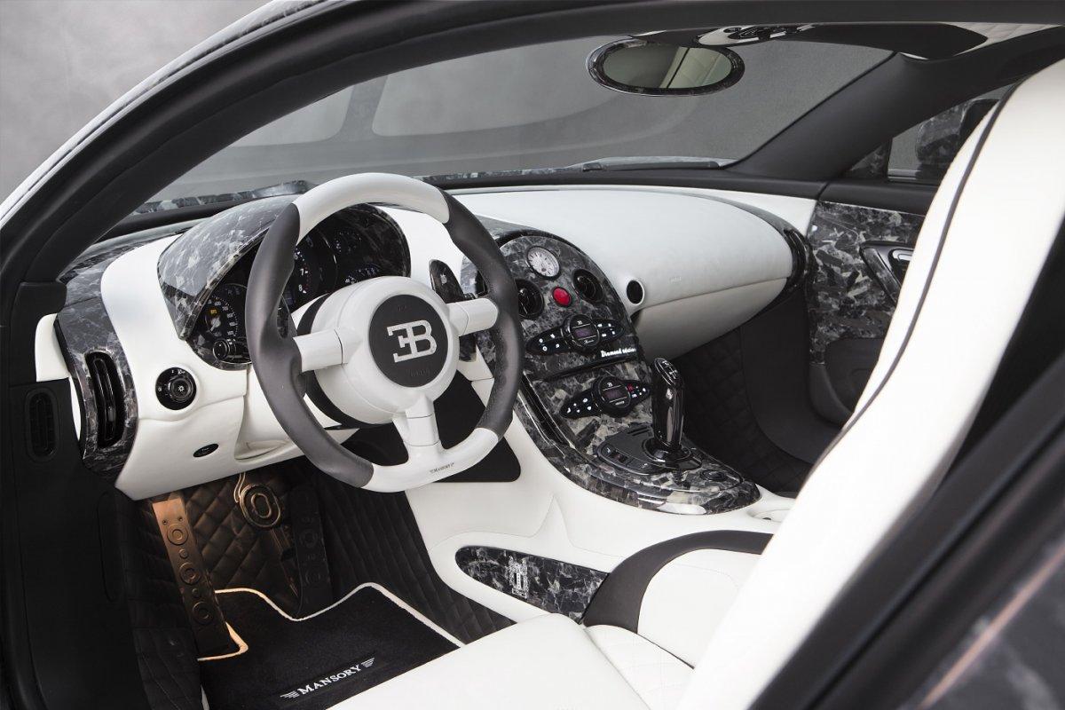 mansory vivere diamond edition bugatti veyron interior. Black Bedroom Furniture Sets. Home Design Ideas