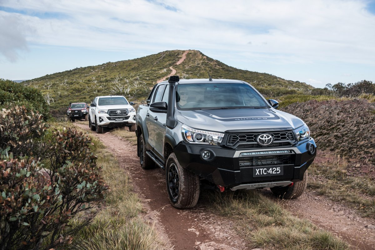 Pricing and Specification: Toyota HiLux Rogue, Rugged and Rugged X