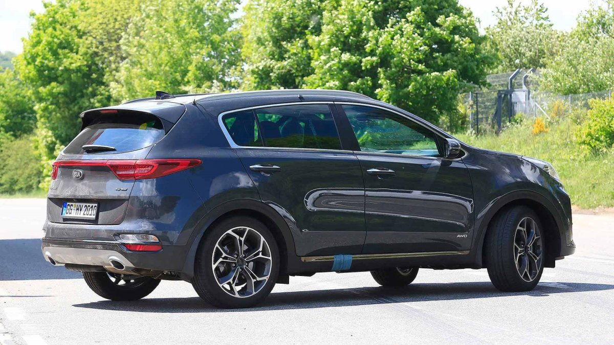 2020 KIA SportageSpy Shots Price and Review