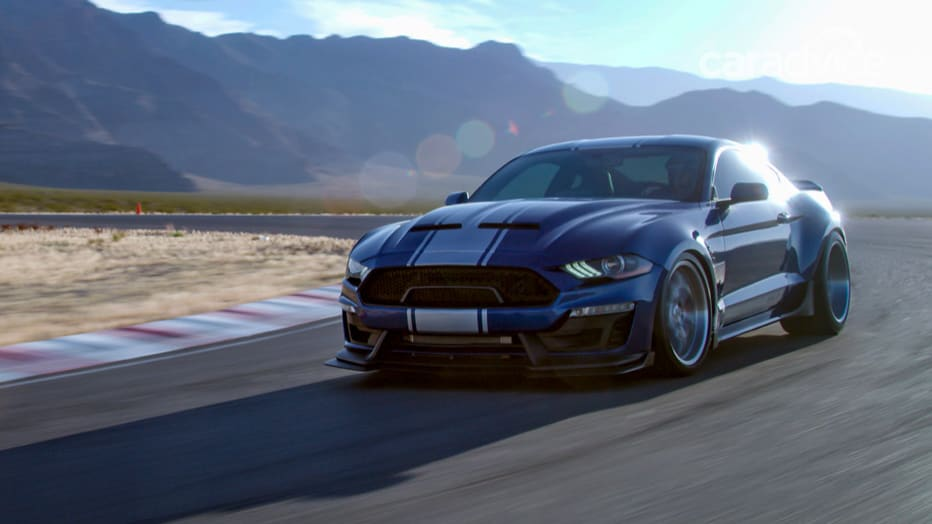 2018 Ford Shelby Super Snake Revealed 597kw Supercharged