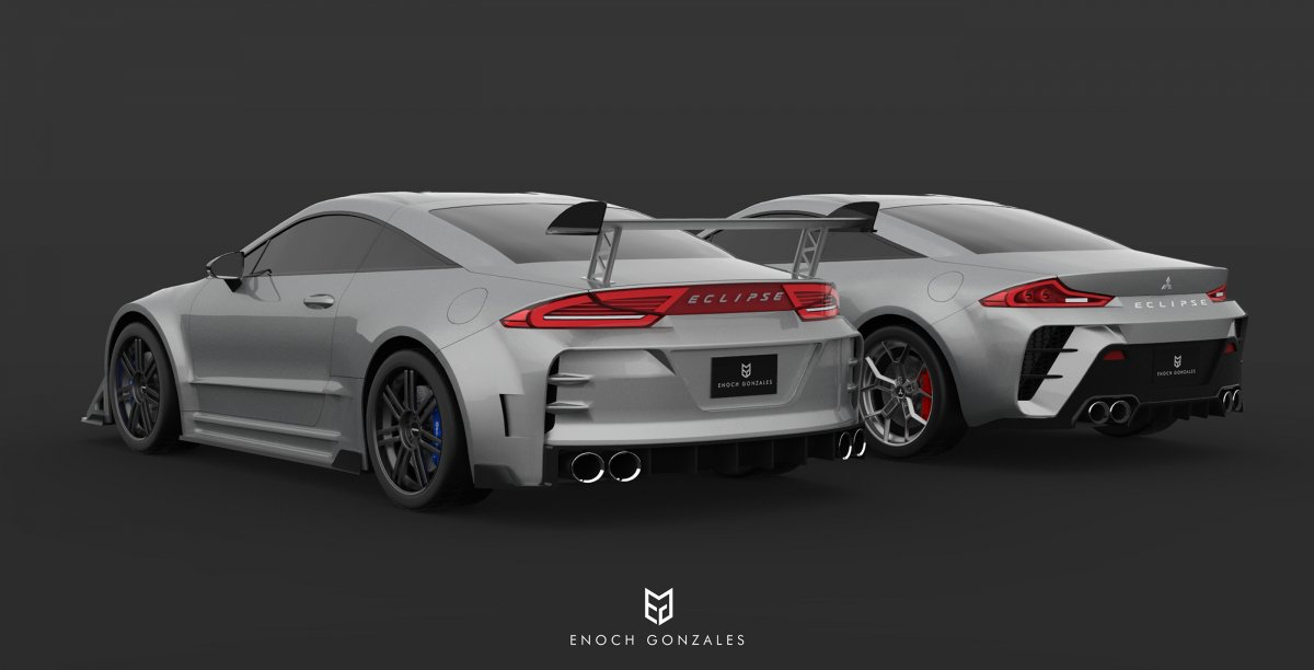 2020 Mitsubishi Eclipse Coupe Fast and Furious imagined ...