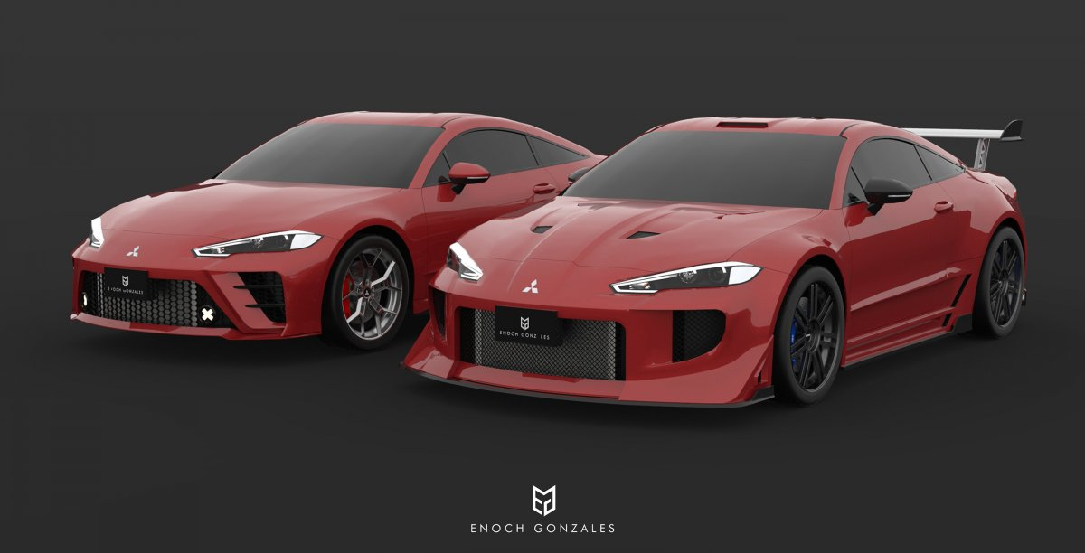 2020 Mitsubishi Eclipse Coupe Fast And Furious Imagined