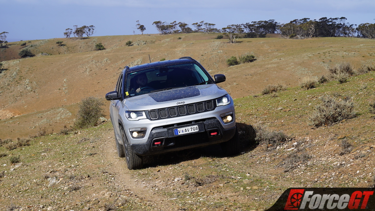 2018 Jeep Compass Trailhawk Off Road Review Forcegt Com