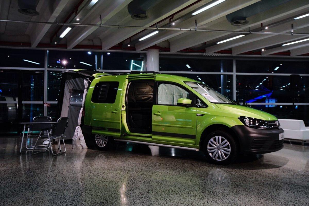 volkswagen reveals caddy beach campervan forcegtcom