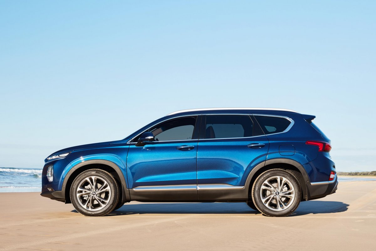 Q7 Review >> 2019 Santa Fe Highlander side - ForceGT.com
