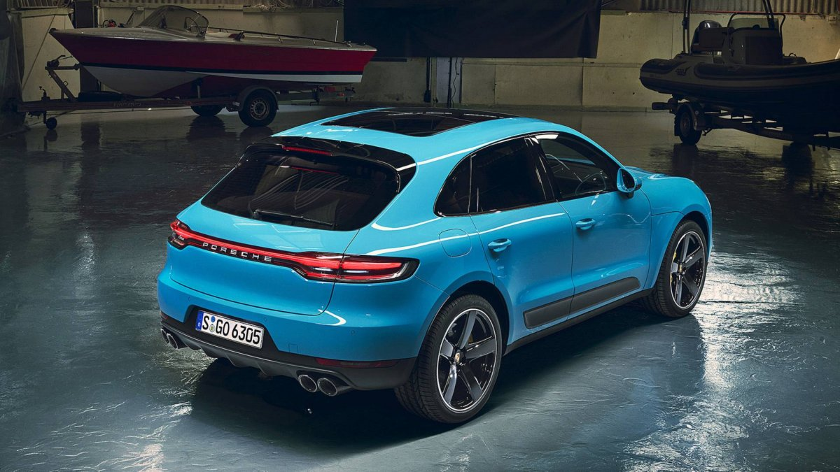 2019 Porsche Macan Unveiled Minor Facelift And More Tech