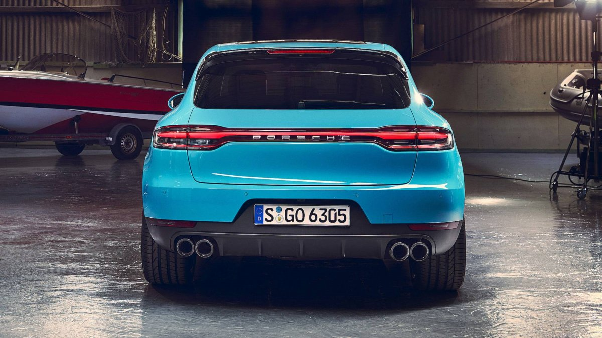 2019 Porsche Macan Unveiled Minor Facelift And More Tech